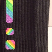 Custom Nike Elite Socks-Rainbow