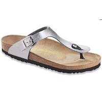 Women's Gizeh Sandal in Silver by Birkenstock