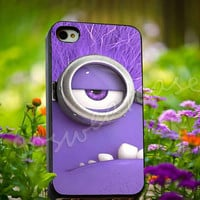 Despicable me Evil Minion - for iPhone 4/4s, iPhone 5/5s/5C, Samsung S3 i9300, Samsung S4 i9500 Hard Plastic Case