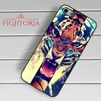 Hipster Cross Tiger-1nn for iPhone 4/4S/5/5S/5C/6/ 6+,samsung S3/S4/S5,S6 Regular,S6 edge,samsung note 3/4