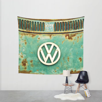 VW Retro Wall Tapestry by Alice Gosling