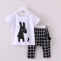 Choice of Bunny, Tie or Stars Shirt and Pants Outfits