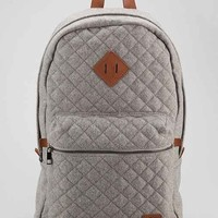 Spurling Lakes Quilted Wool Backpack- Grey One