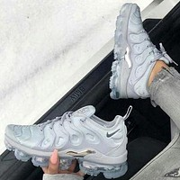 Nike Air Max Vapormax Plus TN Vapor max vascular atmosphere cushion running shoes fashion men and women casual sports shoes