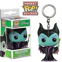 Funko Pocket Pop: Disney - Maleficent Keychain