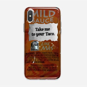 Taco Bell, Take Me To Your Taco iPhone XS Max Case