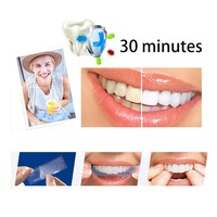 New Teeth Whitening Strips Stain Removal Advanced convenient Teeth Whitening Strips Double Elastic Gel Oral Health Care