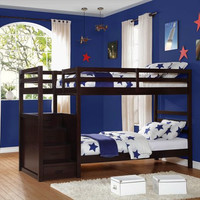 Atlas Twin Over Twin Bunk Bed B2250-1