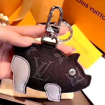 LV creative personality wild keychain pendant