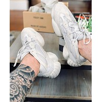 "Adidas YEEZY Desert Rat 500 ""Blush"" Sneakers Shoes"