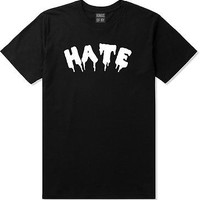 Kings Of NY Hate Goth Blood Font Short Sleeve T-Shirt