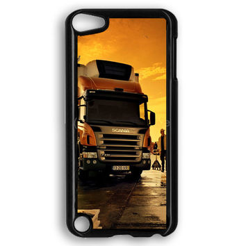 Afternoon Scania Logo Blue iPod Touch 5 Case