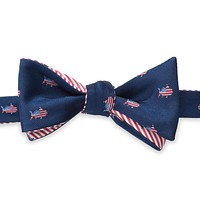 Reversible Oh Say Can You Sea Bow Tie in True Navy by Southern Tide