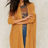 Relaxed to Grind Knit Cardigan