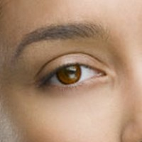 Fine & Clear Chestnut Brown Coloured Contacts