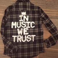 Music flannel