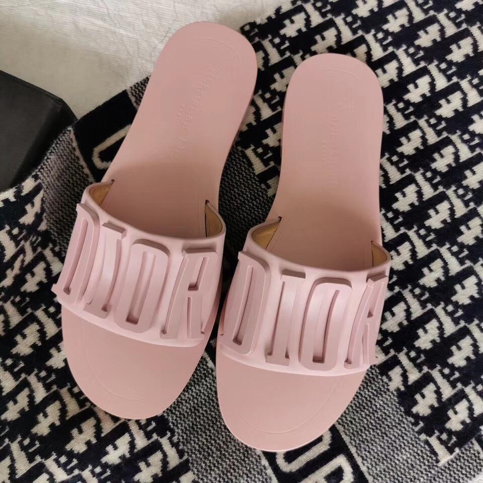 Image of Dior letter slippers