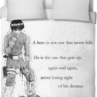 Rock Lee Never Give Up On Your Dreams
