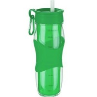 Trudeau Cool Off Green Hydration Bottle, 24 Ounce