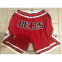NBA Chicago Bulls Just Don Shorts-1