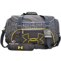 Under Armour Select Duffel Bag in Black and Yellow