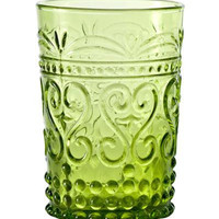 Provenzale Glass Collection   Apple Green