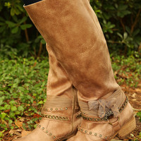 Best Present Ever Boots: Taupe