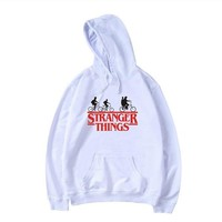 Aikooki Hoodies Stranger Things Hoodies men/women Fashion Sweatshirts Hip Hop Hoodie Stranger Things men's Hoodies Clothes