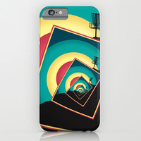 Spinning Disc Golf Baskets 2 iPhone & iPod Case by Phil Perkins