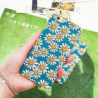 Smiling Sunflower Iphone Case For Iphone 7 Se 5S 6 6S Plus Case Cover