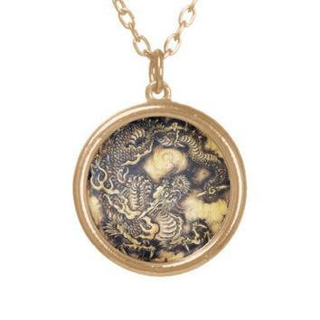 Cool traditional japanese oriental dragon wood art from Zazzle.com