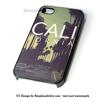 California iPhone 4 4S 5 5S 5C 6 6 Plus , iPod 4 5  , Samsung Galaxy S3 S4 S5 Note 3 Note 4 , and HTC One X M7 M8 Case