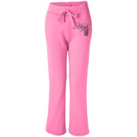 High AF Women's Open Bottom Sweatpants with Pockets