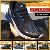 Authentic Original 2019 Nike Air Max 270 For Men Women Sports Running Shoes Cushion Sneakers