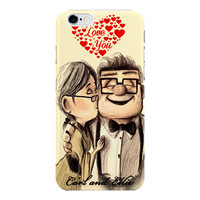 Carl And Ellie Disney Pixar Up For iPhone 6 / 6 Plus Case