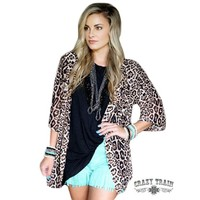 Kitty Kitty Bang Bang Kimono By Crazy Train