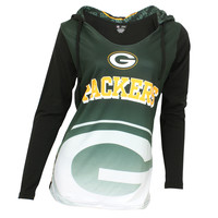 Green Bay Packers Cameo Women's Hooded Top