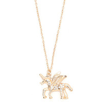 With Love From CA Unicorn Necklace at PacSun.com