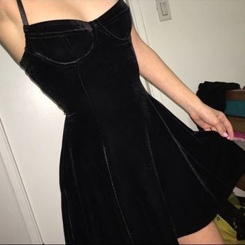2017 summer women black  vintage velet strapless party dress vestidos sleeveless high waist off the shoulder sexy casual dresses
