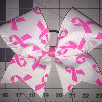 Breast Cancer Awareness Spirit Bow