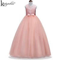 New Christmas Dress Girls Clothes Teenagers Christmas Dresses For Girls Costumes Wedding Dress Children Clothing Princess Dress