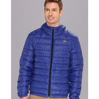 Lacoste Featherweight Packable Down Jacket Luxe Blue - Zappos.com Free Shipping BOTH Ways