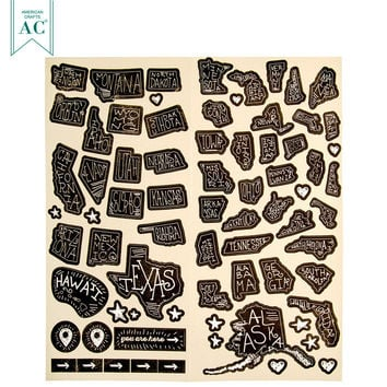 That a Way Travel Stickers   Hobby Lobby   852152