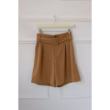Tropez Belted Shorts