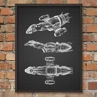 Serenity/Firefly Wall Art Poster