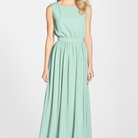 Women's Paper Crown by Lauren Conrad 'Tori' Crepe Gown,