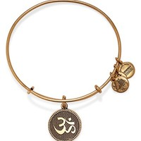 Women's Alex and Ani 'Om II' Expandable Wire Bangle
