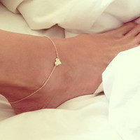 Sexy Anklet Ankle Bracelet Barefoot Sandals Foot Jewelry Leg Chain Anklets