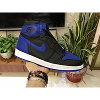Air Jordan 1 OG Retro Royal Blue/Black 555088-007