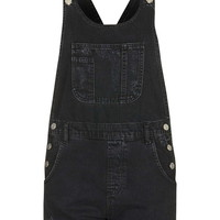 MOTO Short Denim Dungaree